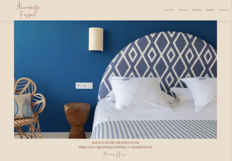 site internet création de site sud up annabelle fesquet décoratrice